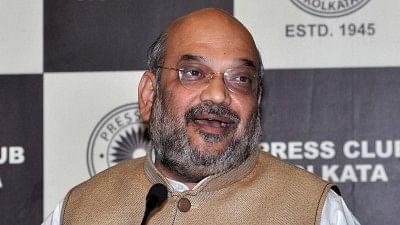 File photo of BJP chief Amit Shah.
