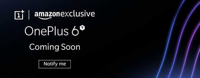 OnePlus 6T is coming.