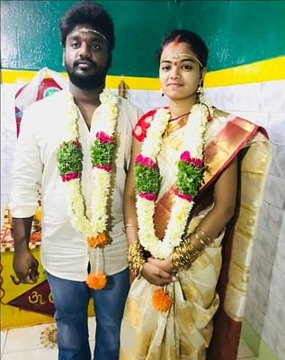 Hyderabad: Madhavi and Sandeep, who were attacked by the girl