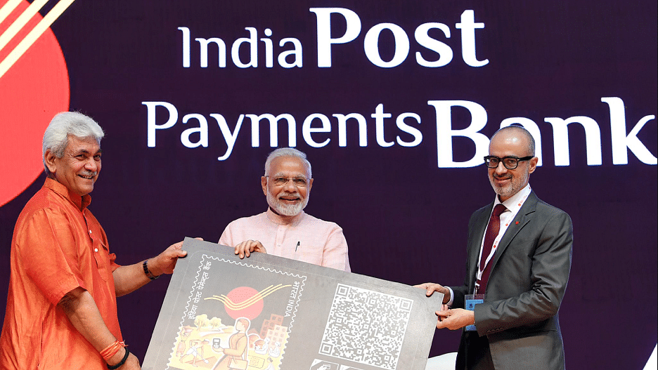 PM Modi Launches India Post Payments Bank For Financial Inclusion