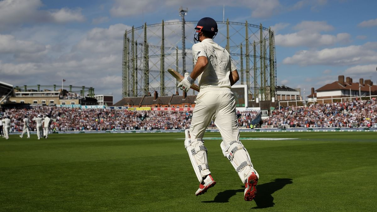 Cook Helps England Take 154-Run Lead Against India in Last Test