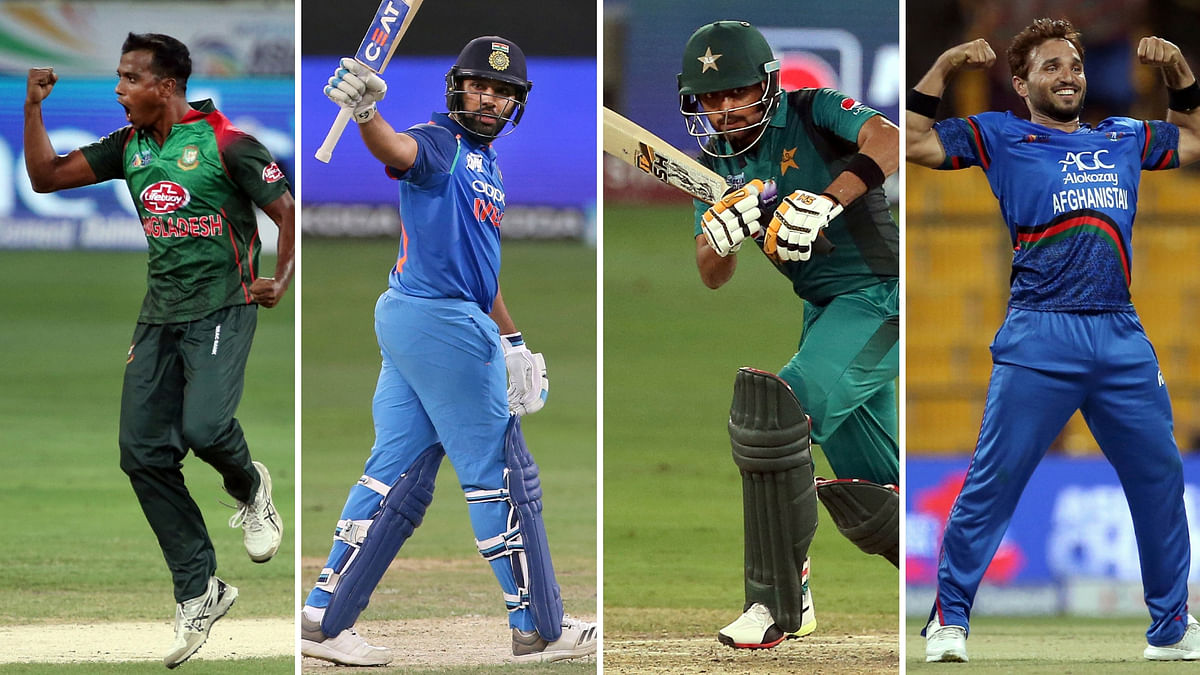 India, Pakistan, Afghanistan and Bangladesh qualified for Super 4 of Asia Cup 2018.