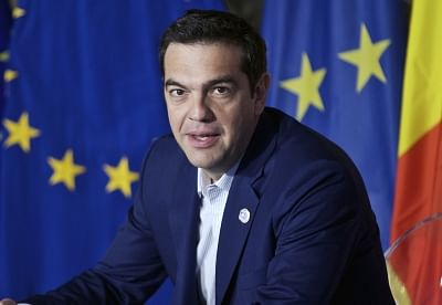 Greece Prime Minister Alexis Tsipras. (File Photo: IANS)