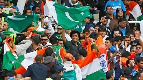 The audience during the India-Pakistan match.