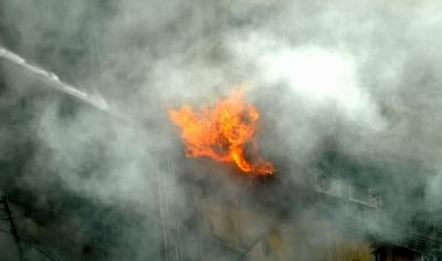 Kolkata: Massive fire breaks out in Central Kolkata