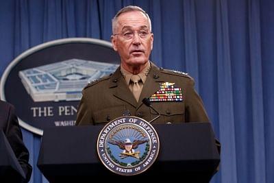 U.S. Chairman of the Joint Chiefs of Staff Joseph Dunford  (Xinhua/Ting Shen/IANS)