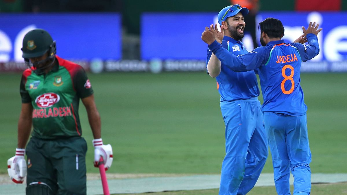 India play Bangladesh in the final of the Asia Cup on Friday, 28 September.