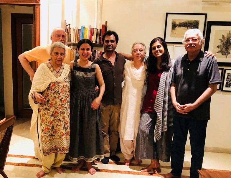 Shahid, Nuzhat, Rasika, Nawaz, Nusrat, Nandita and Saeed.