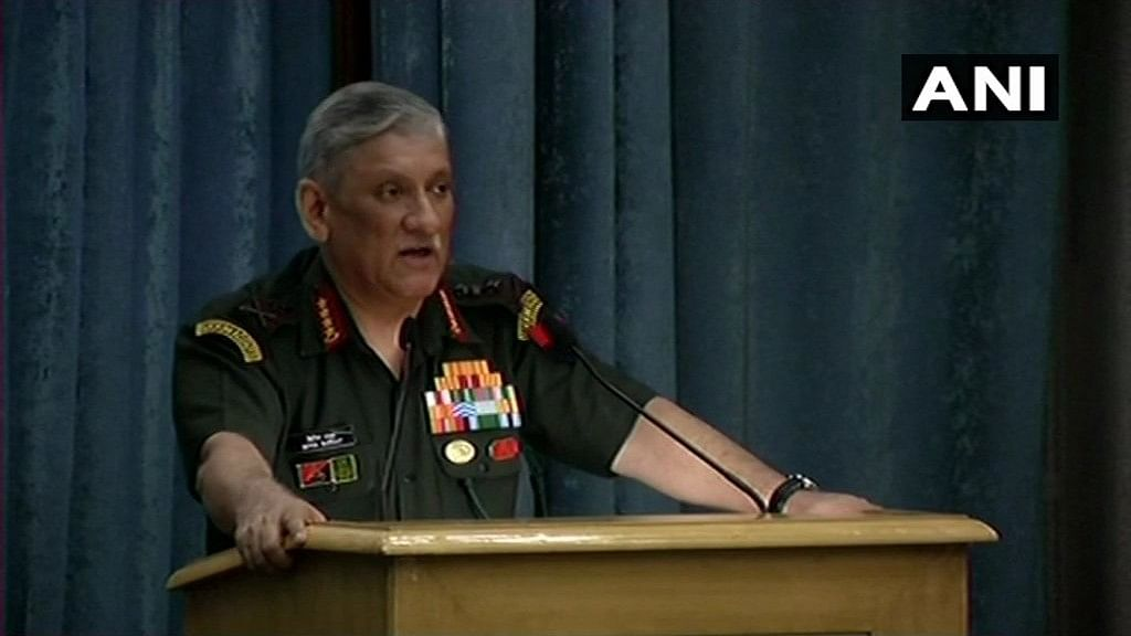 Must Leverage Social Media to Our Advantage: Army Chief Rawat