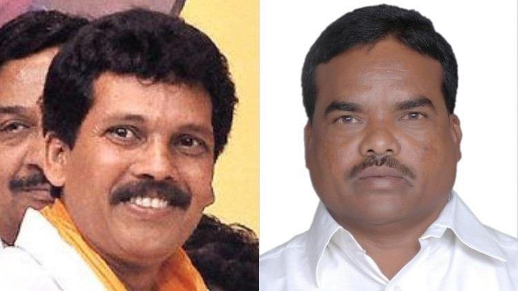 TDP leaders Kidari Sarveswara Rao (Left) and Siveri Soma (pic 2), present and former MLAs from Araku respectively, were shot dead.