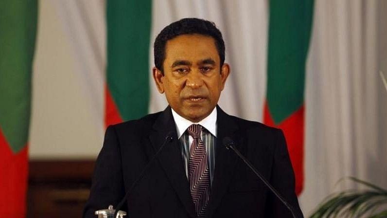 Maldivian president Abdulla Yameen Abdul Gayoom