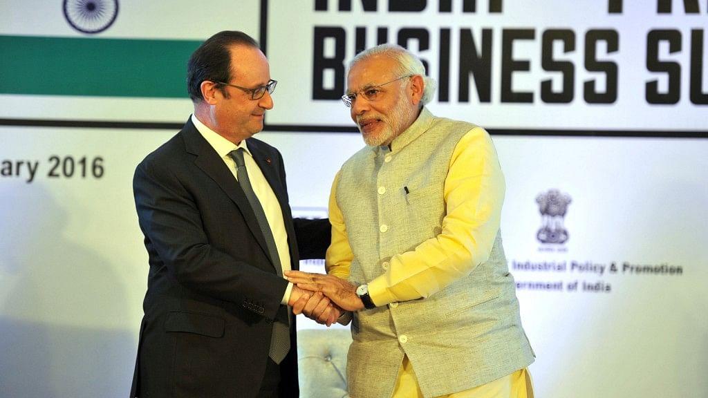 Reliance Part of Modi Govt's 'New Formula': What Hollande Told AFP
