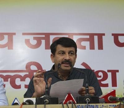Delhi Bharatiya Janata Party President Manoj Tiwari. (Photo: IANS)