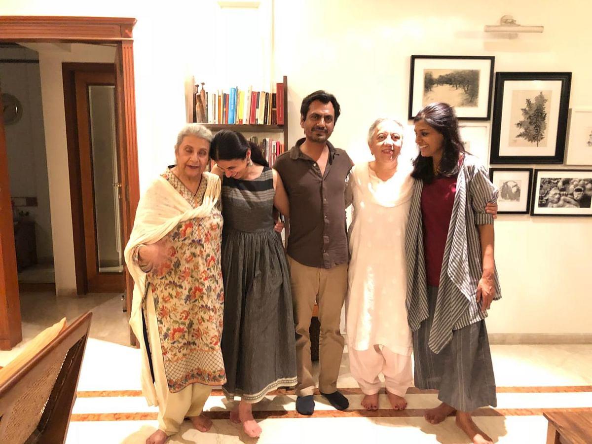 Nuzhat Arshad, Rasika Dugal, Nawazuddin Siddiqui, Nusrat Jalal and Nandita Das.