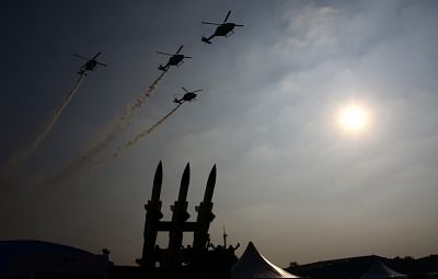 The Defence Ministry on Saturday announced that the next edition of the Aero India air show would be held here from February 20 to 24, 2019. (Photo: IANS)