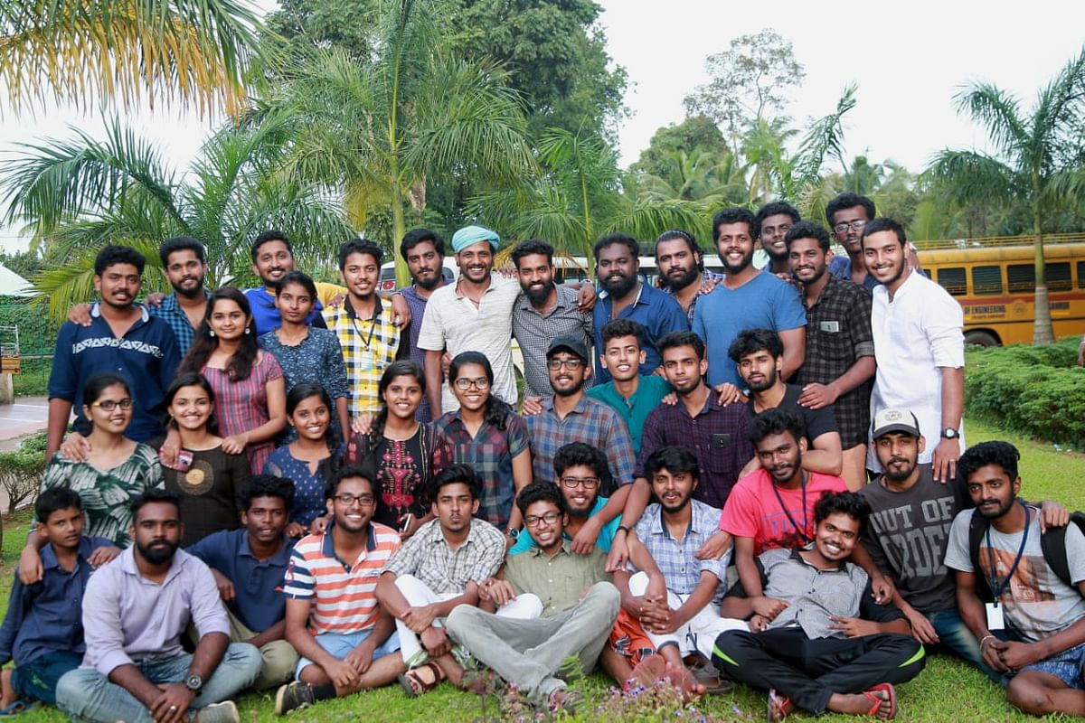 The team that is responsible for saving the lives of hundreds. Presenting the heroes of Chengannur Engineering College.