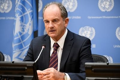 David Shearer, the head of the United Nations Mission in South Sudan. (Photo: UN)