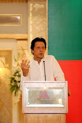 Pakistan Prime Minister Imran Khan. (File Photo: XINHUA/IANS)
