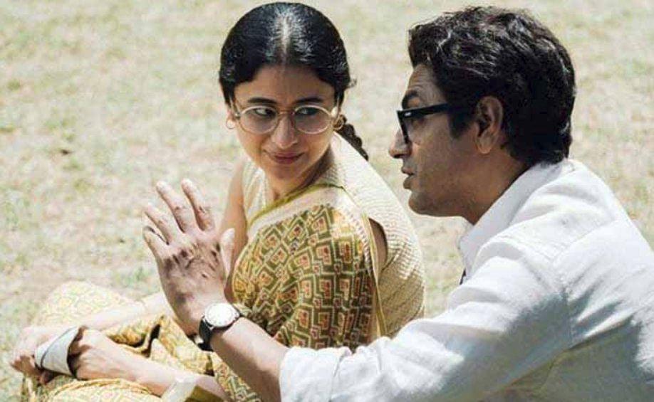 Nawazuddin Siddiqui and Rasika Dugal in <i>Manto</i>.