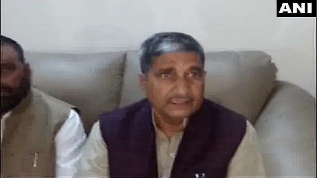 Mukut Bihari Verma, UP Minister