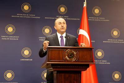 Turkish Foreign Minister Mevlut Cavusoglu.  (Xinhua/Qin Yanyang/IANS)