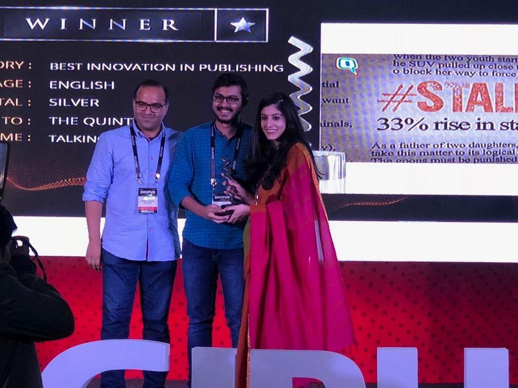 The Quint Wins Big at Digipub World Awards 2018