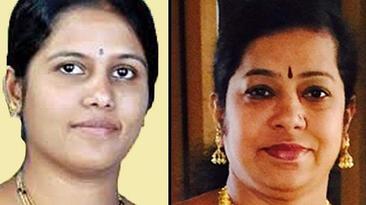 Gangambike Mallikarjun (L) and Ramila Umashankar, were elected as Mayor and Deputy Mayor of Bengaluru City, respectively.