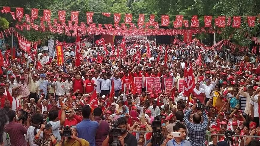 Farmers Protest in Delhi: Govt's Agrarian Policies Are Anti-People