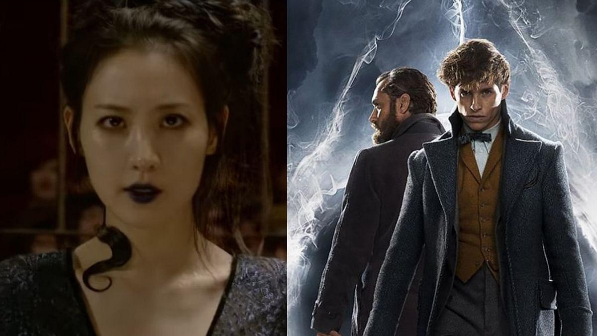 Claudia Kim, Eddie Redmayne and Jude Law in <i>Fantastic Beasts: The Crimes of Grindelwald</i>.