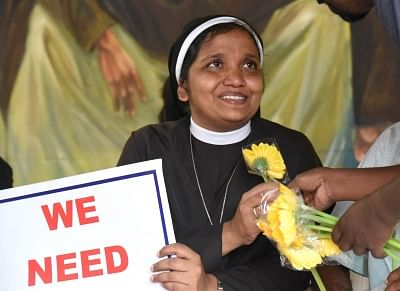Law should take its course in nun rape case: Bishops' body