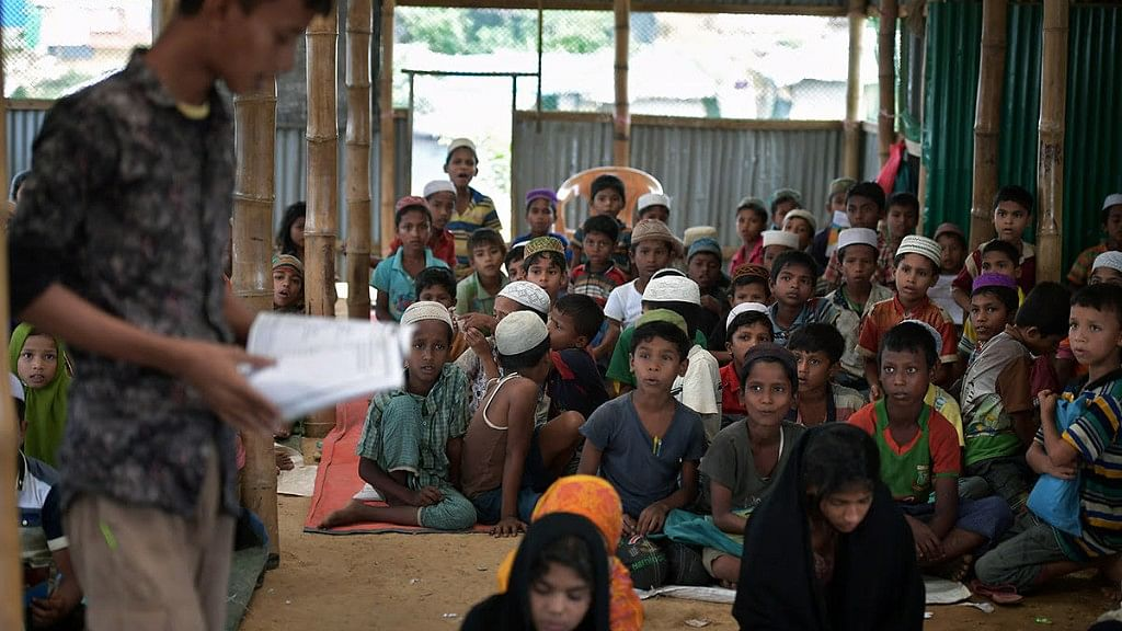 Rohingya Crisis: A 'City' Of Children Old Before Their Time