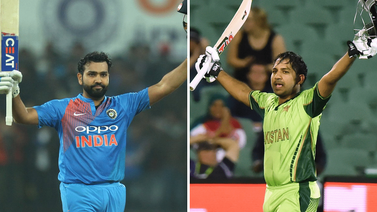 In the absence of the rested Virat Kohli, Rohit Sharma is leading the Indians side. Pakistan's skipper is Sarfraz Ahmed.