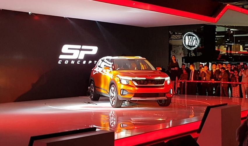 The Kia Tusker was unveiled at the 2018 Auto Expo.