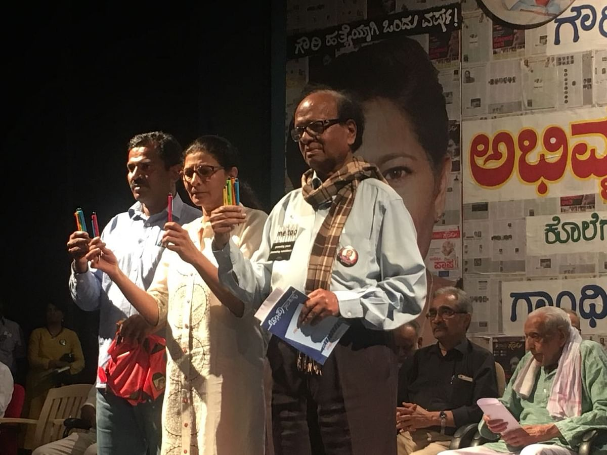 Remembering Gauri: We'll Fight Back, Say Journalists and Activists