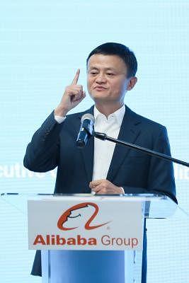 Jack Ma, Alibaba founder and executive chairman.  (Xinhua/Zhu Wei/IANS)