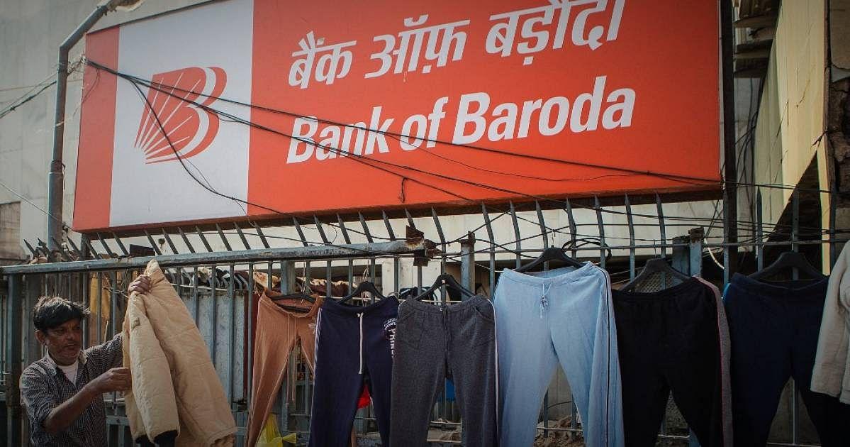 A Bank of Baroda hoarding. Image used for representation.