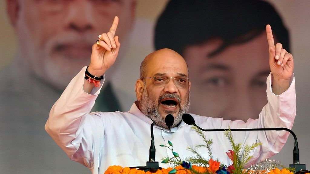 """BJP president Amit Shah said on Saturday that Bangladeshi migrants are like """"termites"""", and each one of them will be struck off the electoral roll."""