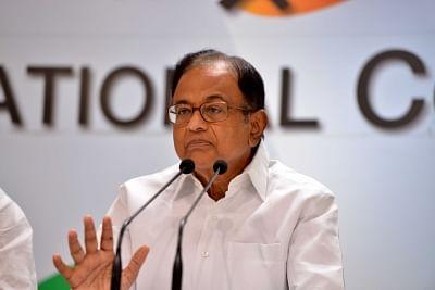 Congress leader P. Chidambaram. (Photo: IANS)