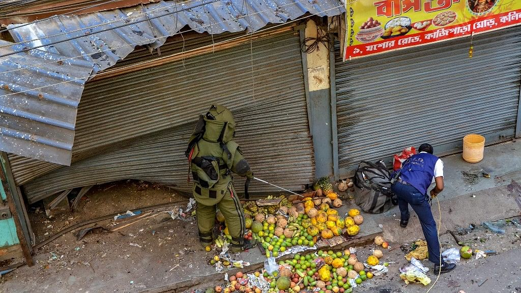 A seven-year-old boy was killed and several were left injured after a crude bomb went off in Kolkata's Dumdum area.