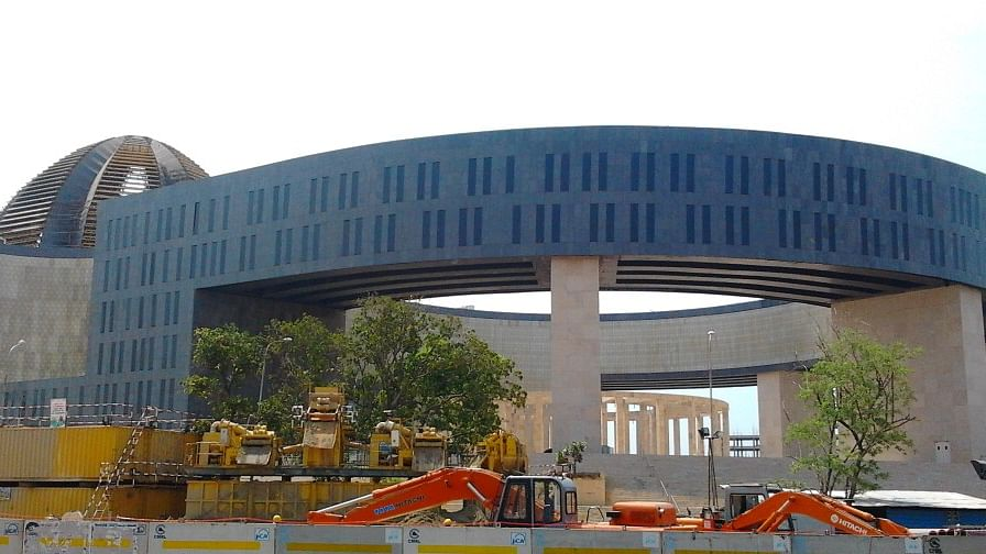 """The Madras High Court on Monday termed as a """"national waste,"""" the Rs 1,200 crore spent on construction of a new Secretariat complex in Chennai during the 2006-11 DMK regime."""