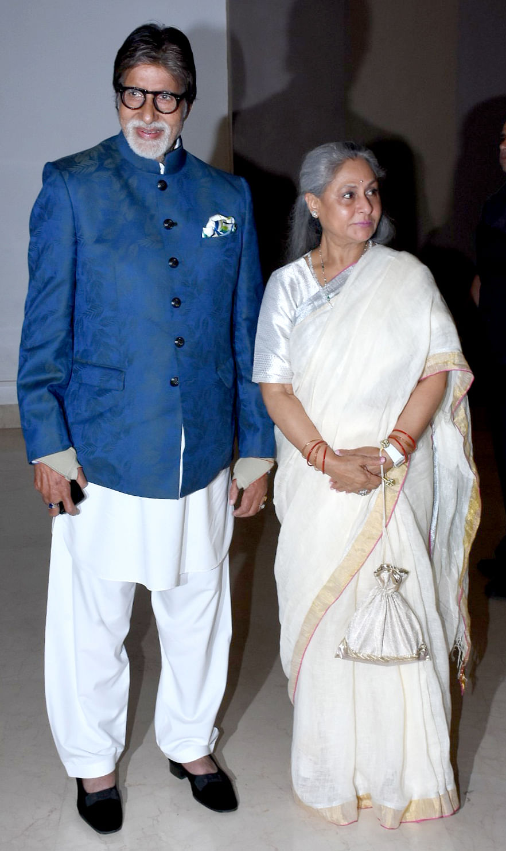 Amitabh and Jaya Bachchan.