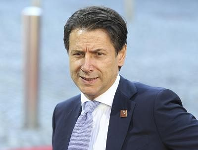 Italian Prime Minister Giuseppe Conte. (File Photo: Xinhua/Ye Pingfan/IANS)