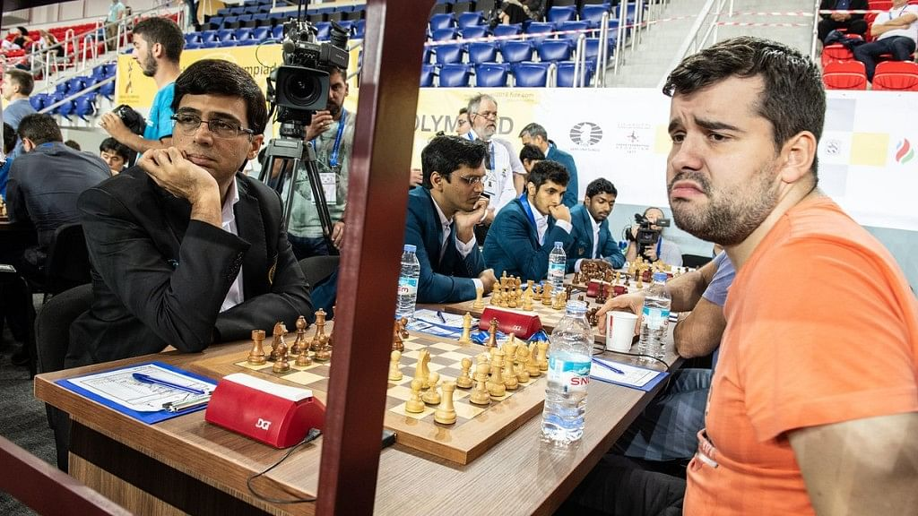 Chess Olympiad: Indian Men Hold Russia; Women Draw With US