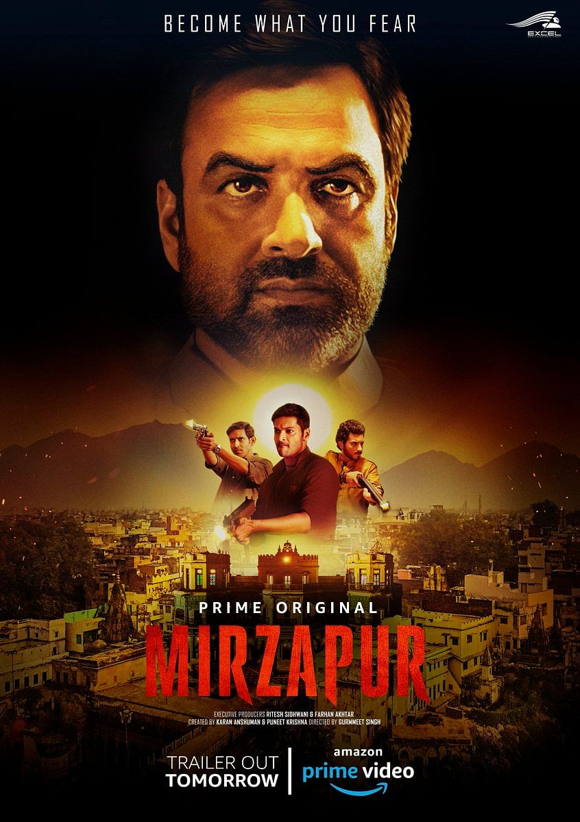 Poster of Amazon's <i>Mirzapur</i>.