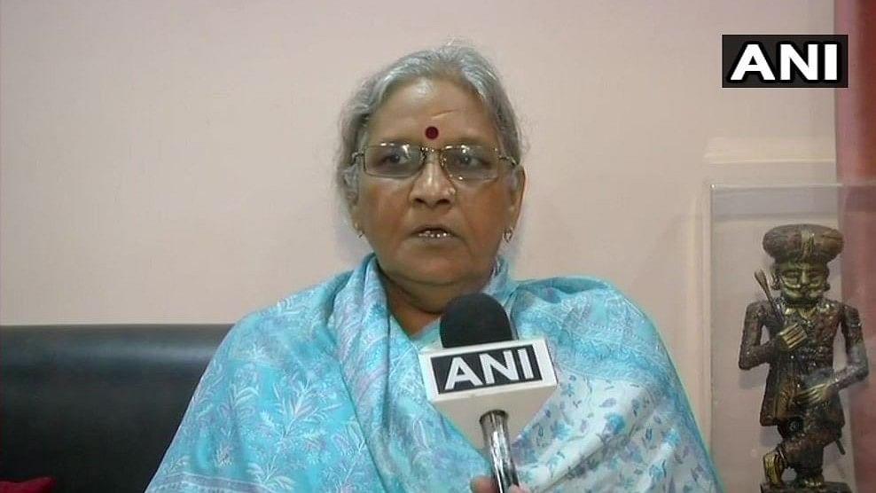 Congress leader and Vajpayee's niece Karuna Shukla.