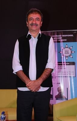 Mumbai: Director Rajkumar Hirani during the announcement of Cinestaan India