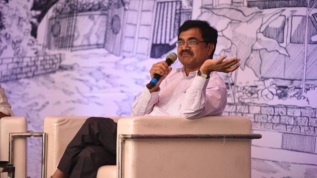 Dalit intellectual Anand Teltumbde.