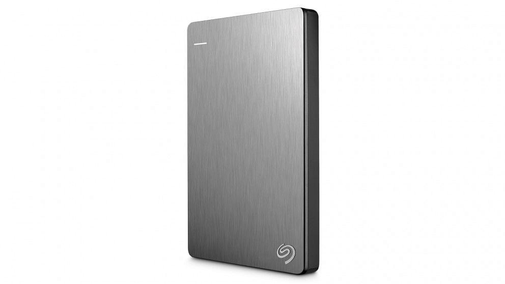 The Seagate 1TB Backup Plus Slim.