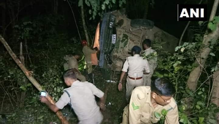 The accident took place on late Monday night on 22 October.