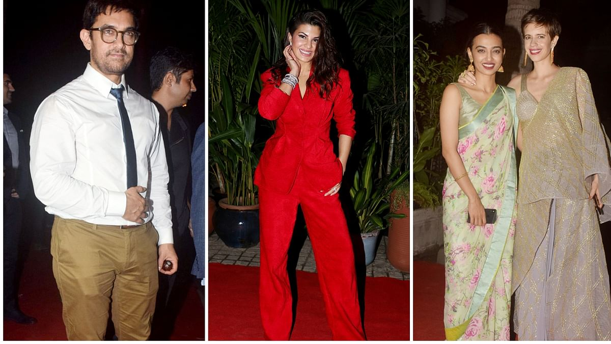 Aamir, Jacqueline & Others on the Glitzy MAMI 2018 Red Carpet